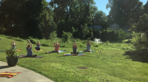 Yoga in Nature: Strong Spine, Soft Heart