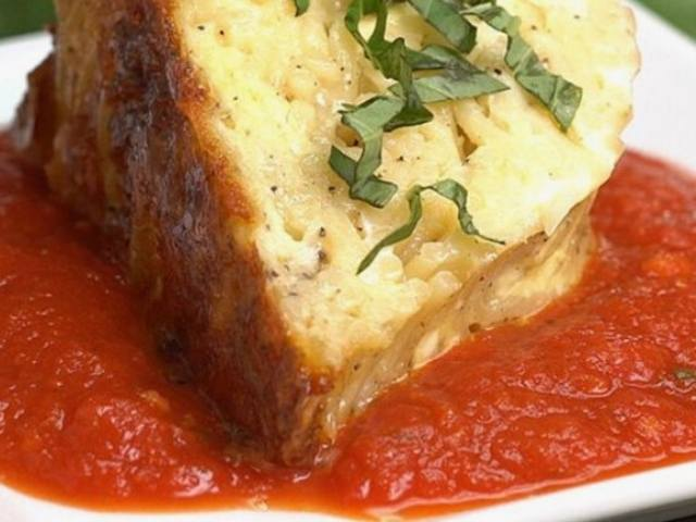 From Our Kitchen: Spaghetti Squash Bundt