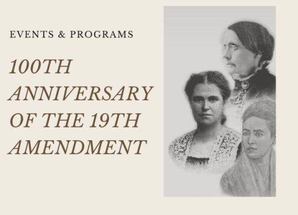 Cranaleith Celebrates 100th Anniversary of the 19th Amendment