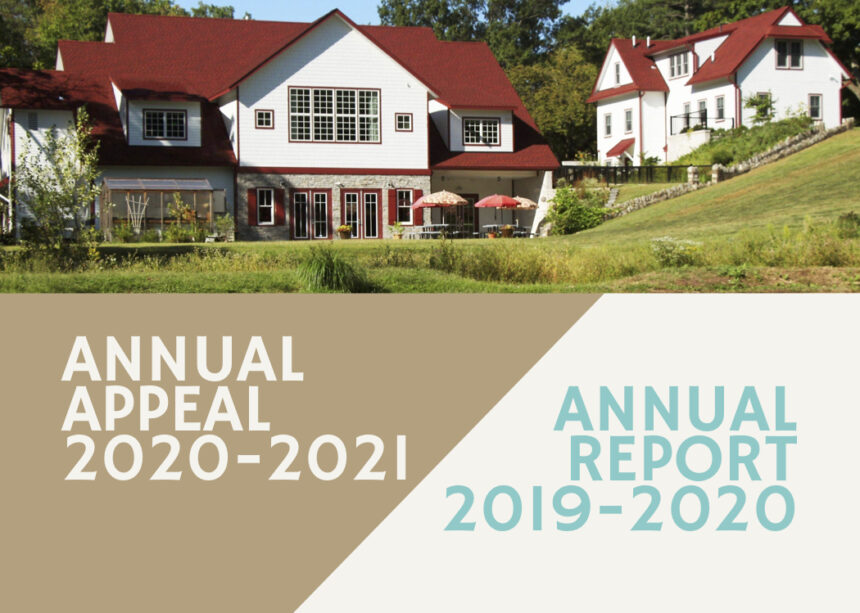 2020-2021 Annual Appeal and 2019-2020 Annual Report
