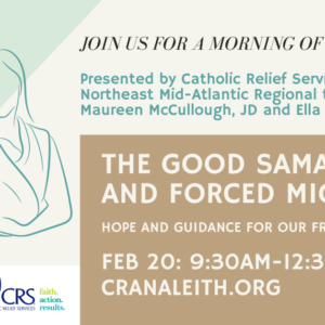 The Good Samaritan and Forced Migration: Hope and Guidance for our Fractured World