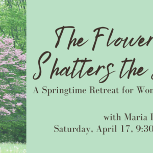 The Flower That Shatters the Stone: A Springtime Retreat for Women Veterans